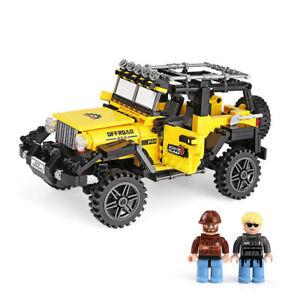 Bausteine Auto Gelb jeep Modellbausätze Kinder Figur Geschenk xingbao 610pcs OVP