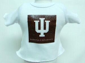 "Purdue University Theme Silver Glitter Transfer T-Shirt For 16/"" Or 18/"" Dolls"