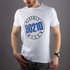 BEVERLY-Hills-90210-SERIE-TV-Unisex-Stampate-Manica-Corta-Maglietta-VINTAGE-T-shirt