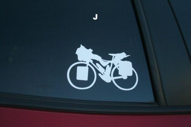 Bigfoot Mountain Bike die-cut car window sticker Buy 2 get 1 free offer!