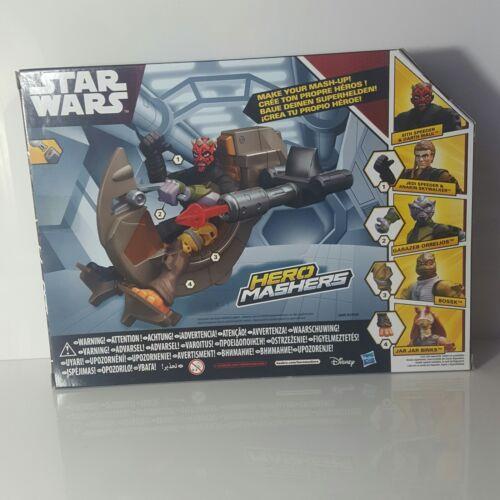 Disney Hasbro Star Wars Hero Mashers Speeder Sith e Darth Maul-Nuovo di Zecca giocattolo