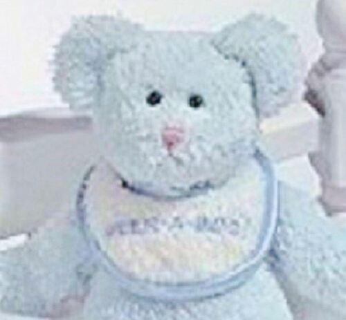 Plush Boyds Blue Snuggie Baby Teddy Bear Peek-a-Boo Retired
