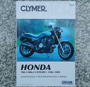 honda vf750 vf1100 vf 700 750 1100 v45 v65 magna sabre clymer repair rh ebay com honda v45 magna shop manual 1982 honda v45 magna manual