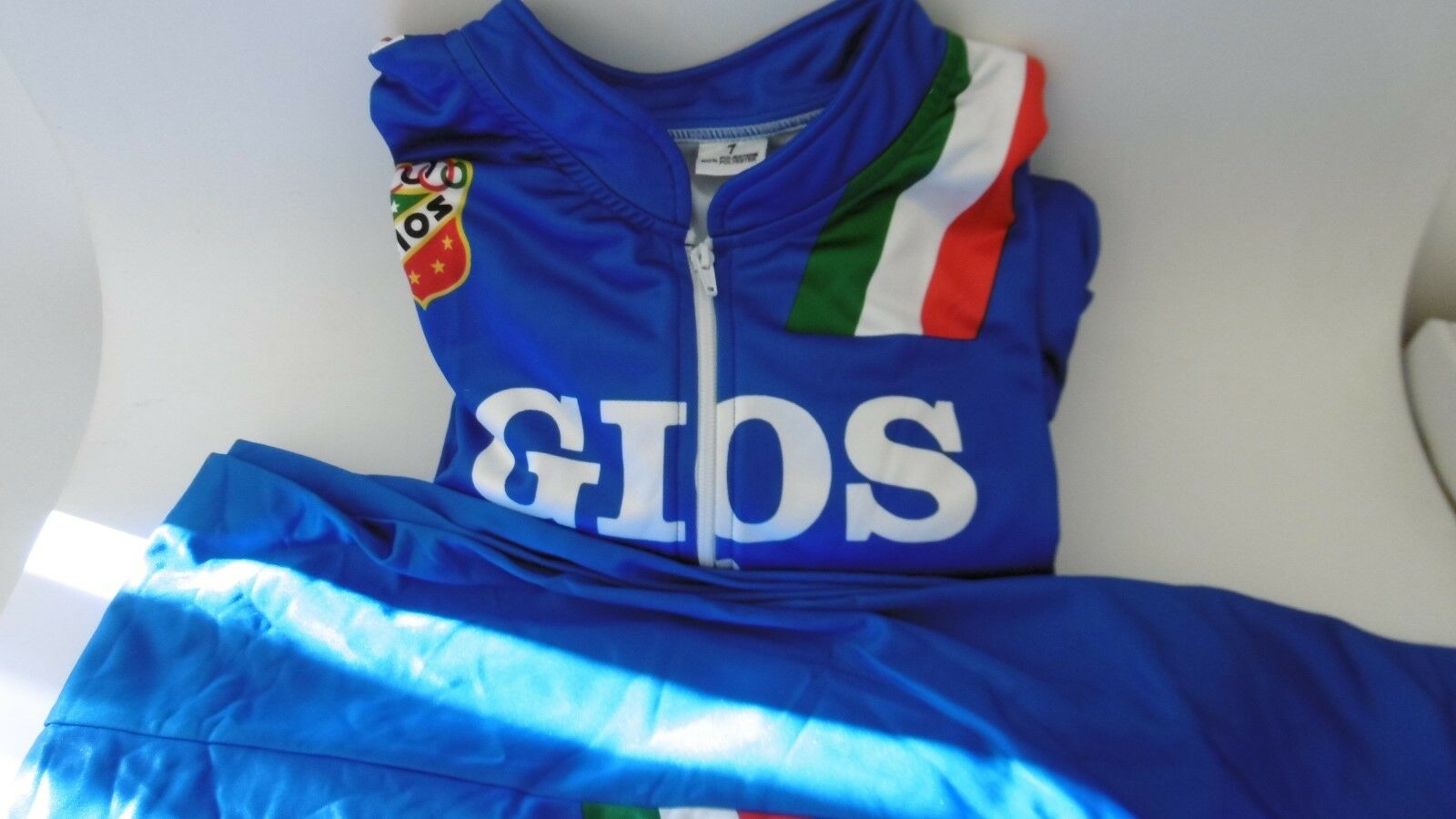 Gios Torino Cycling Trainer Jersey Set Size 7-XXL Made In  NOS