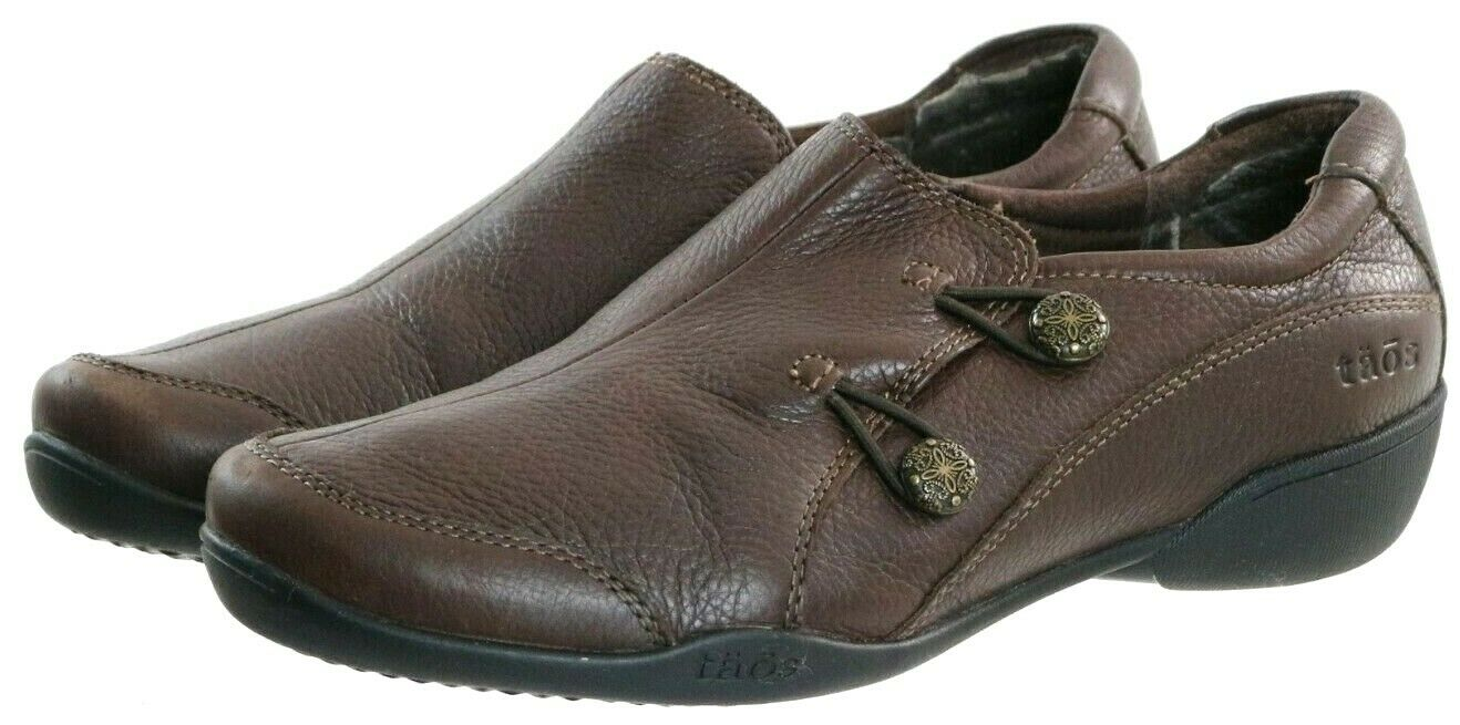 Taos Women's Comfort Shoes Size 7.5 Leather brown