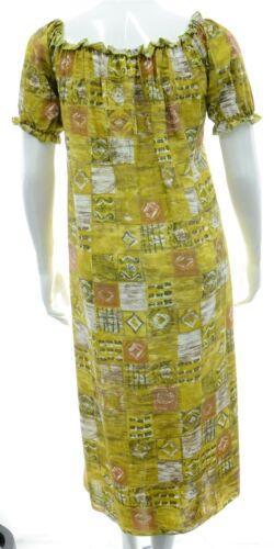 Tunic 16 Dress Regno Womens Stampa New 26 Unito Maxi Greens Neckline Check Gypsy Elastic x0nBSqdBwU