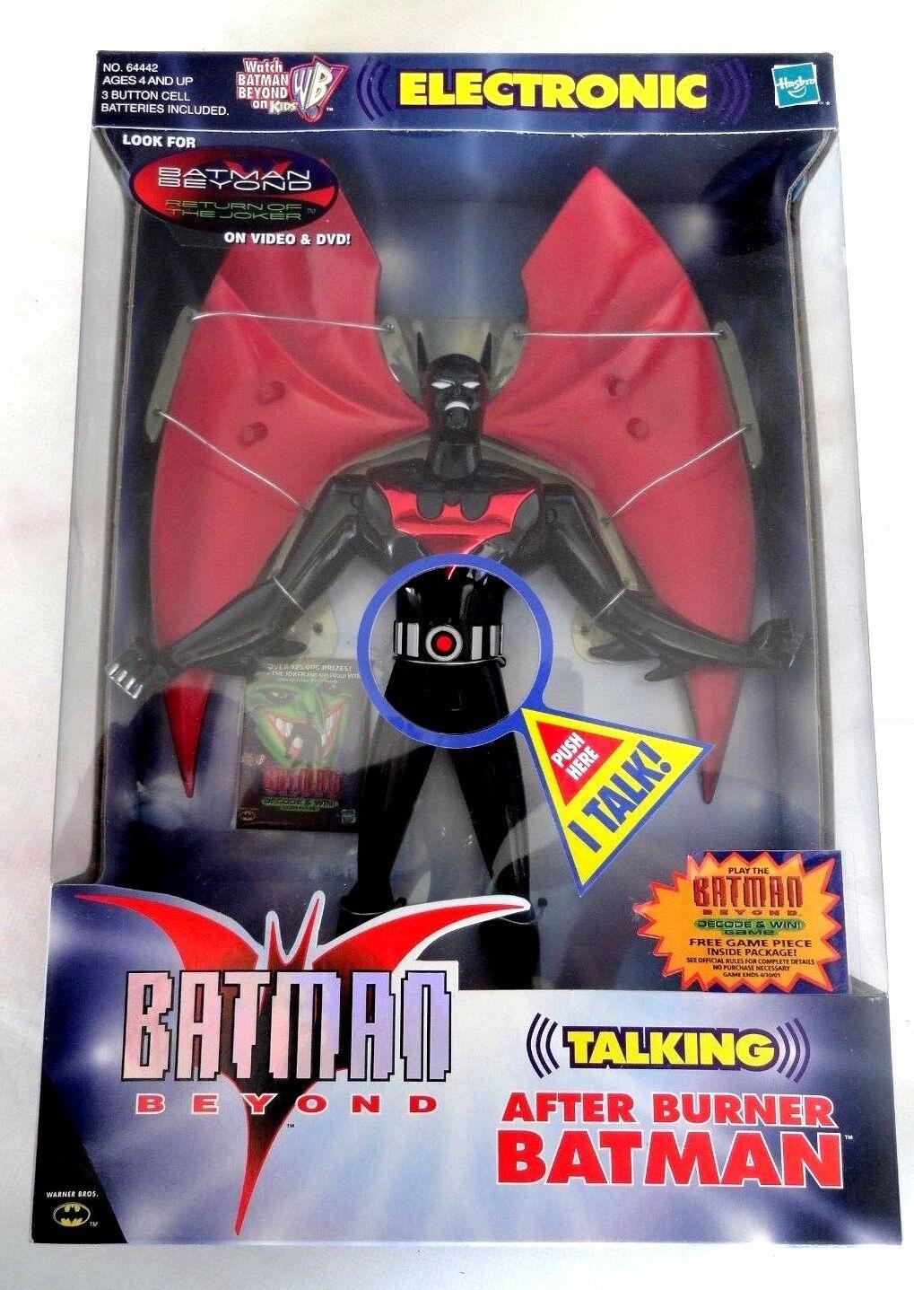 BATMAN BEYOND  10 INCH ELECTRONIC TALKING AFTER BURNER BATMAN ACTION FIGURE NEW