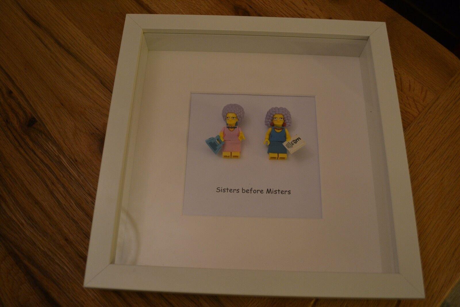 Lego Patty y Selma-The Simpsons Mini Figura Figura Figura hermana cotización de imagen 8b1ad3