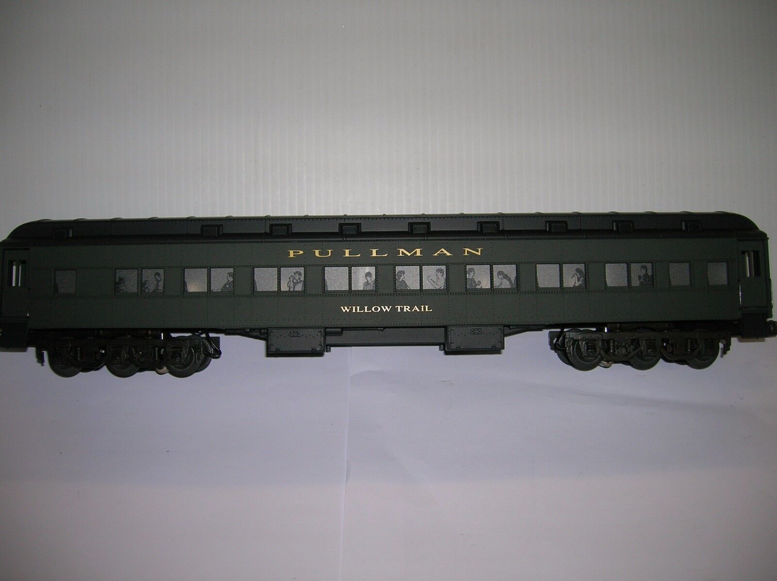 Lionel  Willow Trail  LN 6-19058 18  long,LN  boxed  Pullman lot   6219