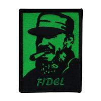 Communist Revolutionary fidel Castro Iron-on Patch Cuban Leader Craft Applique