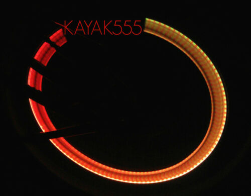 4 X COLOR-CHANGING LIGHTS 4BIKES CARS BICYCLES SAFETY REFLECTORS TRICK UR BIKE