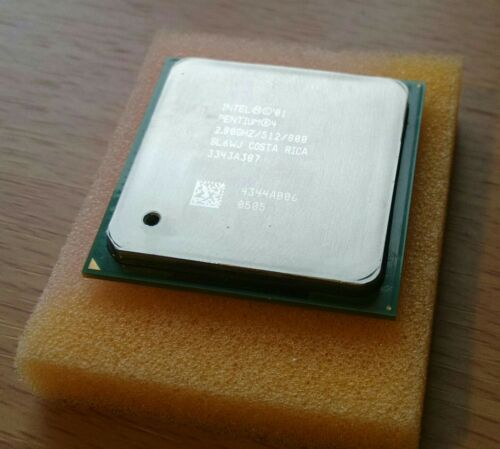 1 of 1 - Intel Pentium 4 - 2.8 GHz (SL6WJ) Processor