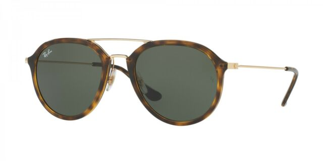 2217dcc4d01 Ray-Ban Rb4253 710 Tortoise gold Frame Green Classic 50mm Lens ...