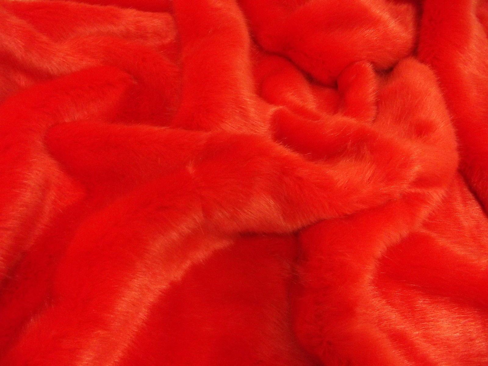 SUPER Luxury Tessuto Pelliccia Sintetica Materiale-Swiss Fiamma
