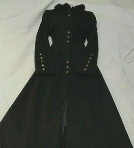 designer-long-black-coat-new-Victorian-Gothic-stream-punk-10-may-fit-12-too-wool