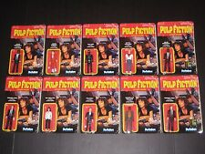 PULP FICTION REACTION COMPLETE FIGURE SET W/ SDCC BLOODY CHASE FUNKO TARANTINO