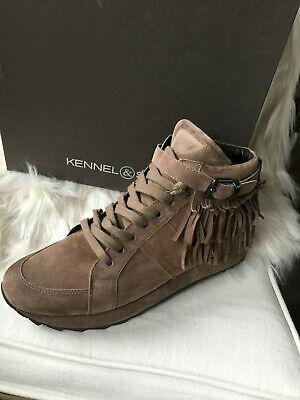 KENNEL & SCHMENGER Damen Sneaker Big in Cielo Suede hellblau
