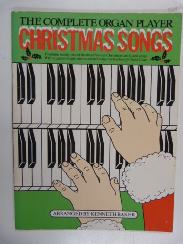 THE COMPLETE ORGAN PLAYER christmas songs