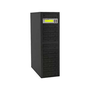 1 to 11 Target 24X SATA DVD CD Duplicator Tower Burner Multiple Disc Copier