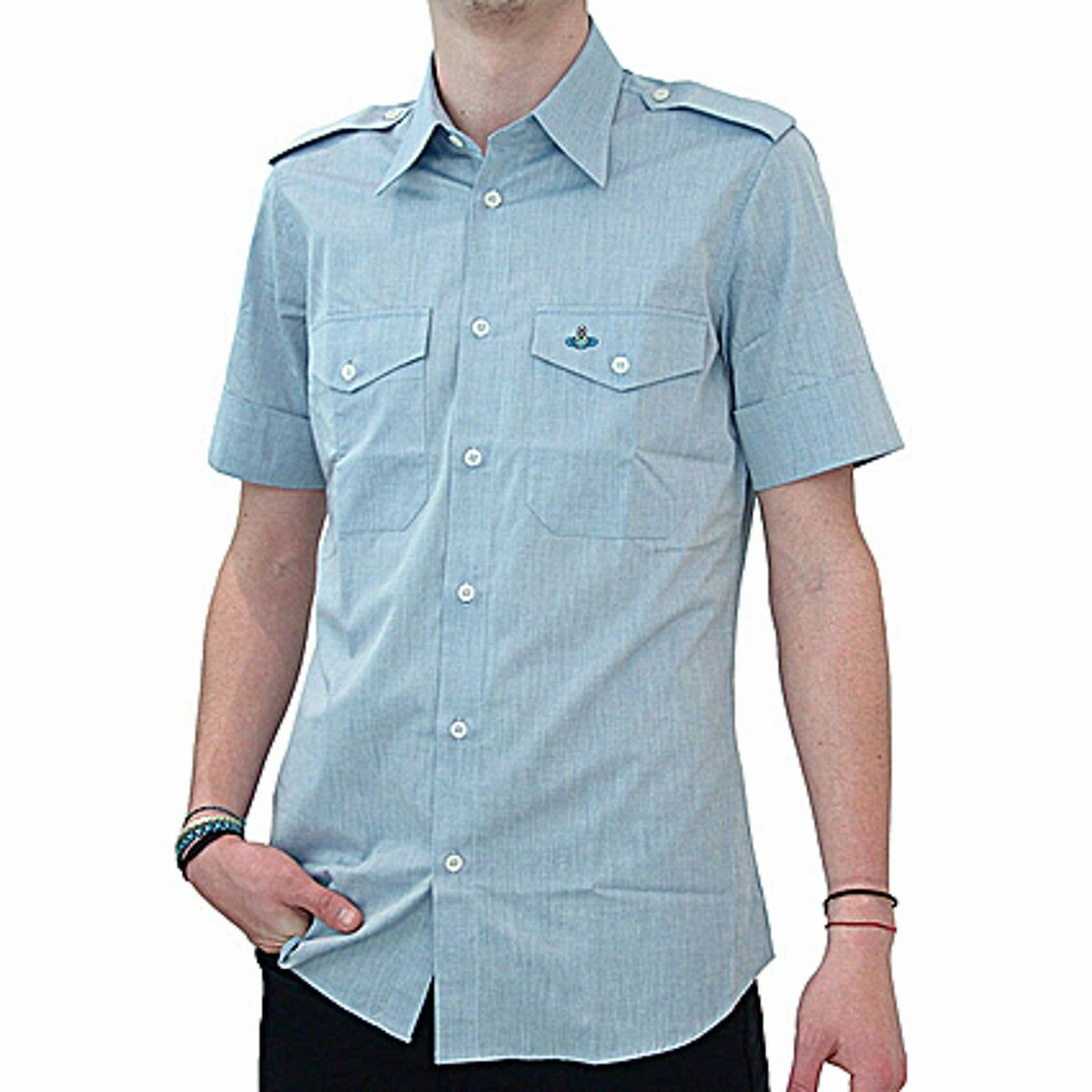Vivienne Westwood Camicia a maniche corte. sleeve short shirt SIZE 44IT