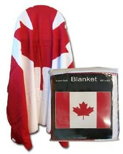 Canada-Canadian-Flag-50x60-Polar-Fleece-Blanket-Throw