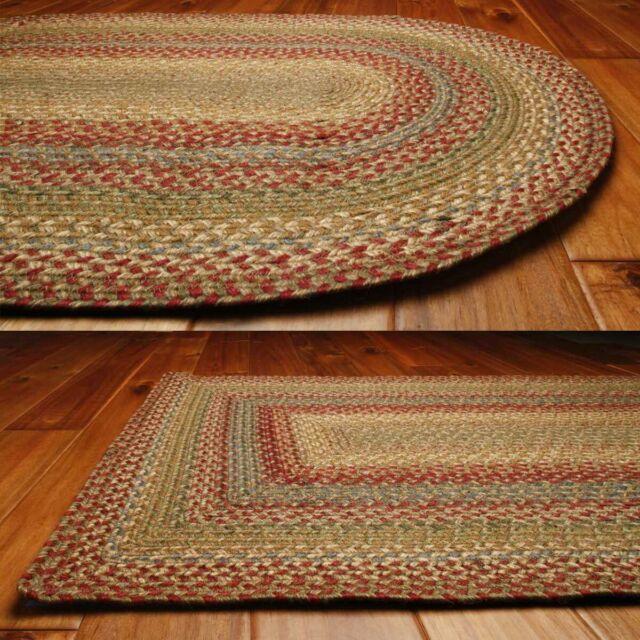 Homee Rectangular Jute Braided Rugs