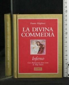 LA DIVINA COMMEDIA. INFERNO, PURGATORIO, PARADISO. 3 volumi. Alighieri. Hoepli.