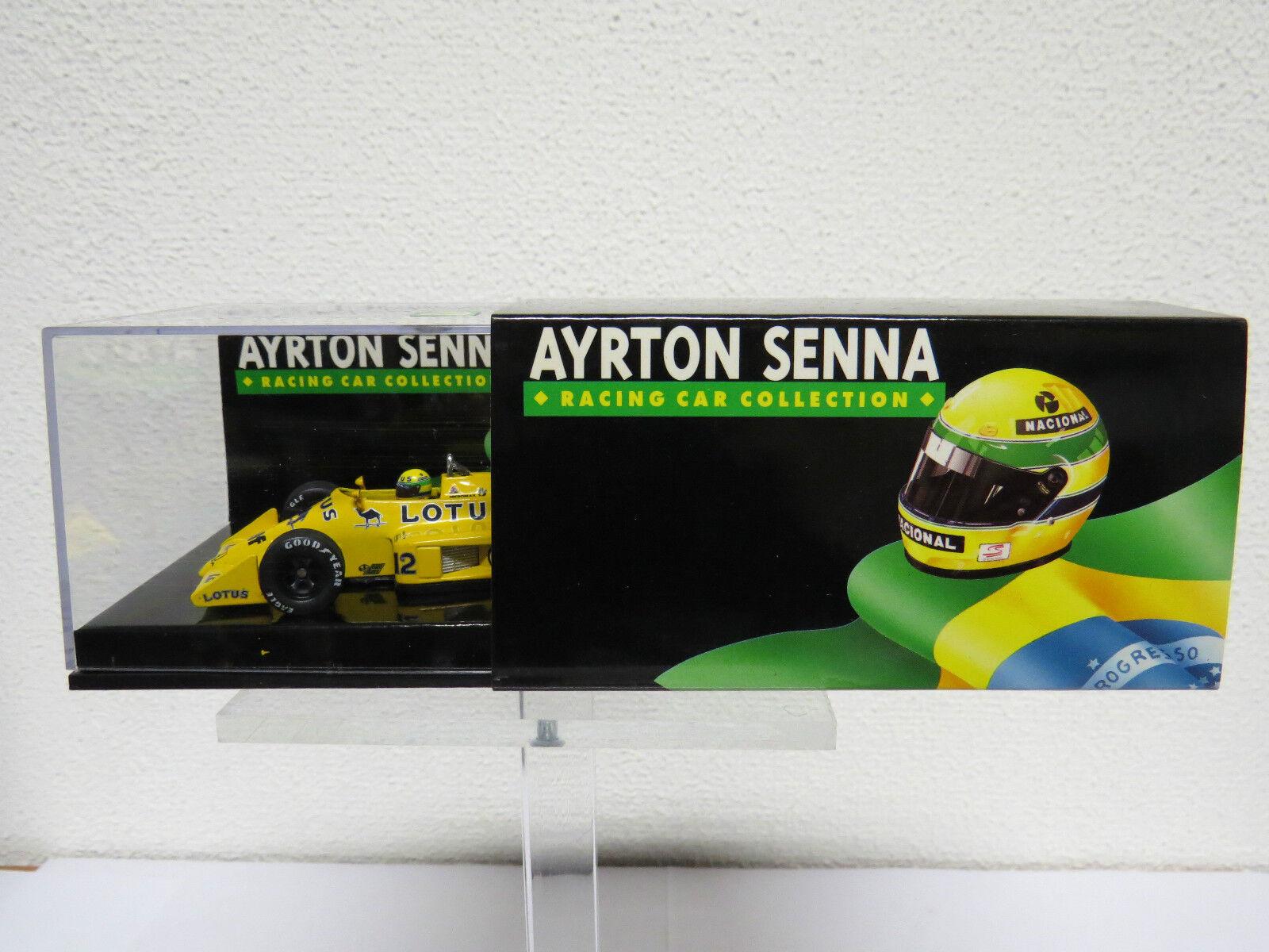 popular Ayrton Senna Lotus 99 T-Honda Turbo 1987 1 1 1 43 Edtion 43 No 15  protección post-venta