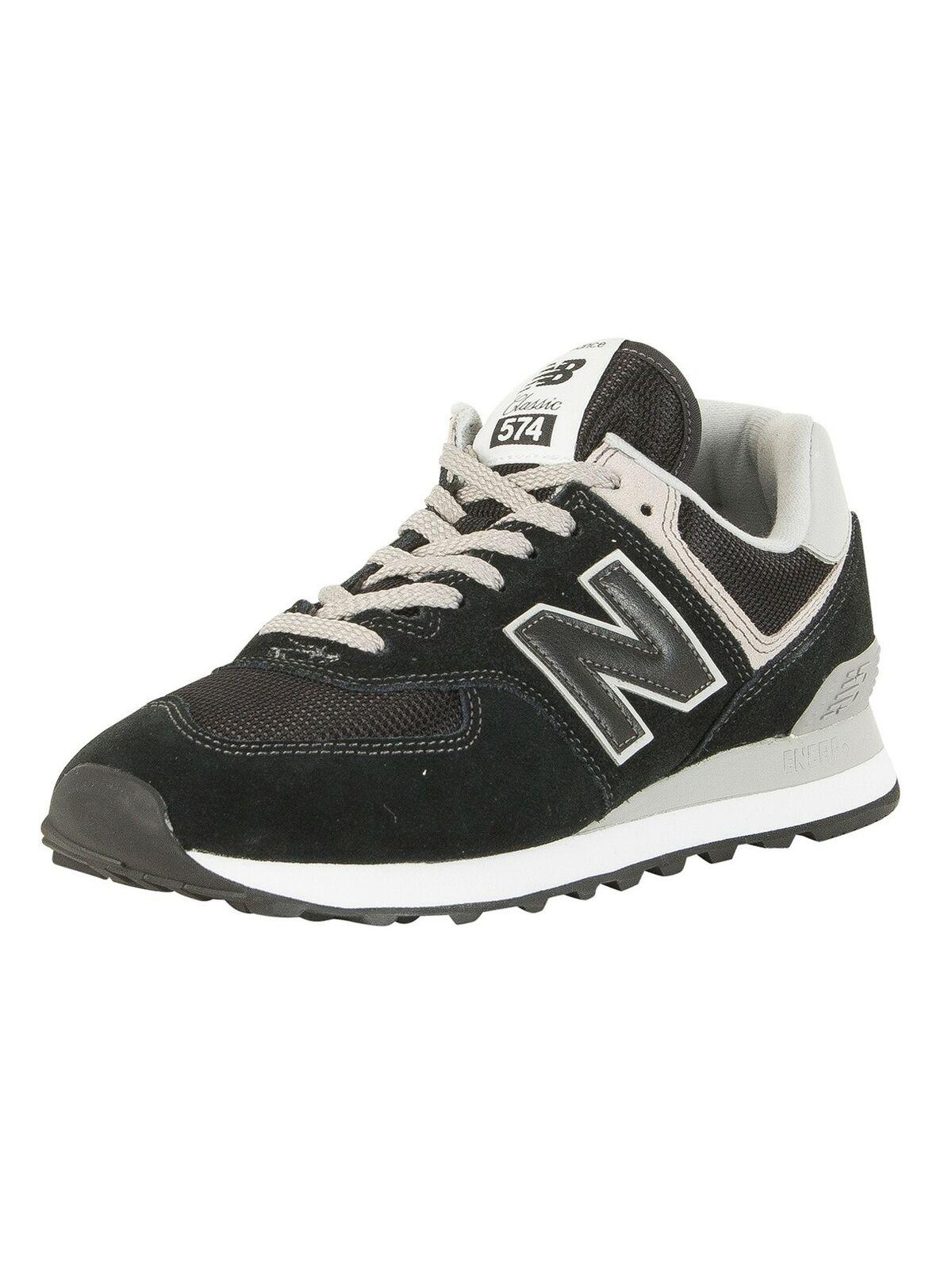 New Balance Men's 574 Trainers, Black
