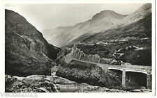 Glen Coe, Argyllshire, Scotland Real Photo Postcard - The Gorge - 1959