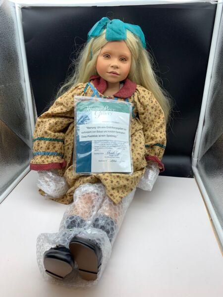 Motivata Pamela Erff Artisti Bambola Bambola Di Porcellana 75 Cm. Edizione Limitata. Top Condizione