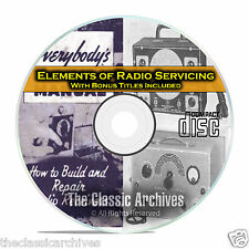 Elements of Radio Servicing, How to Repair Old Time Radio, Comprehensive CD C01