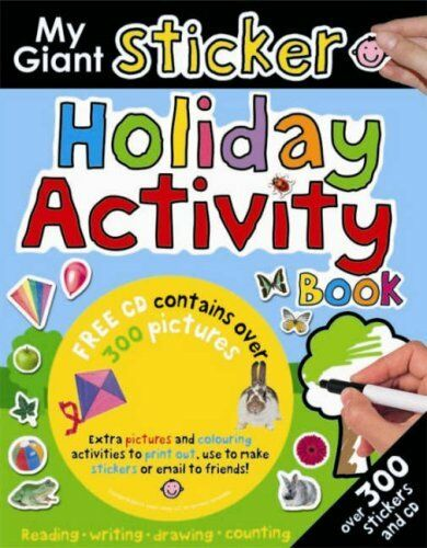 My Giant Sticker Holiday Activity Book (My Giant Sticker) (My Giant Sticker Boo