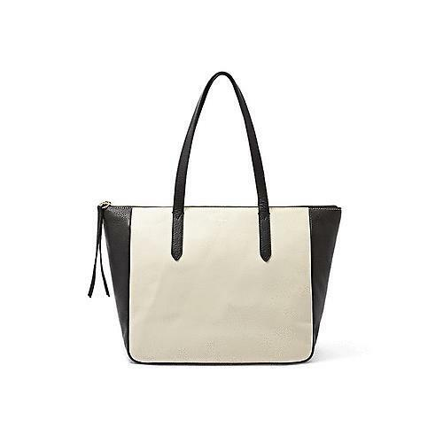 Fossil Sydney Shopper in Black//Cream ZB5931005