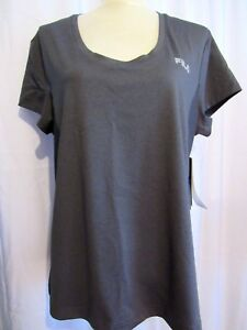 FILA-WOMENS-PERFORMANCE-COOL-GRAY-WICKING-TOP-SIZE-XXL-NEW-WITH-TAGS