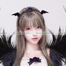 Black Cute Halloween Hair Accessories Girls Hair Clip Devil Bat Wings Hairpin