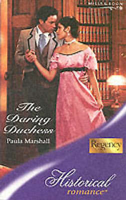The Daring Duchess (Regency, Book 56), Marshall, Paula, Very Good Book