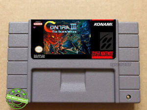 Contra-III-The-Alien-Wars-SNES-Video-Game-USA-Version