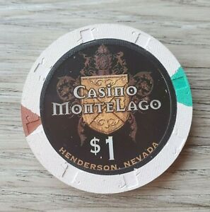 CASINO MONTELAGO HENDERSON  $1 HOUSE  CASINO  CHIP