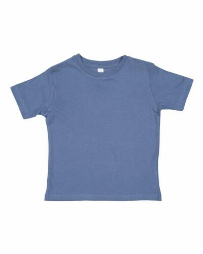 Rabbit Skins Toddler Fine Jersey Tee 3321-2T 3T 4T 5//6 7 Toddler T-shirt