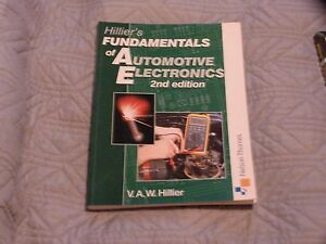 Hilliers fundamentals of Automotive Electronics 2nd edition - Shefford, Bedfordshire, United Kingdom - Hilliers fundamentals of Automotive Electronics 2nd edition - Shefford, Bedfordshire, United Kingdom