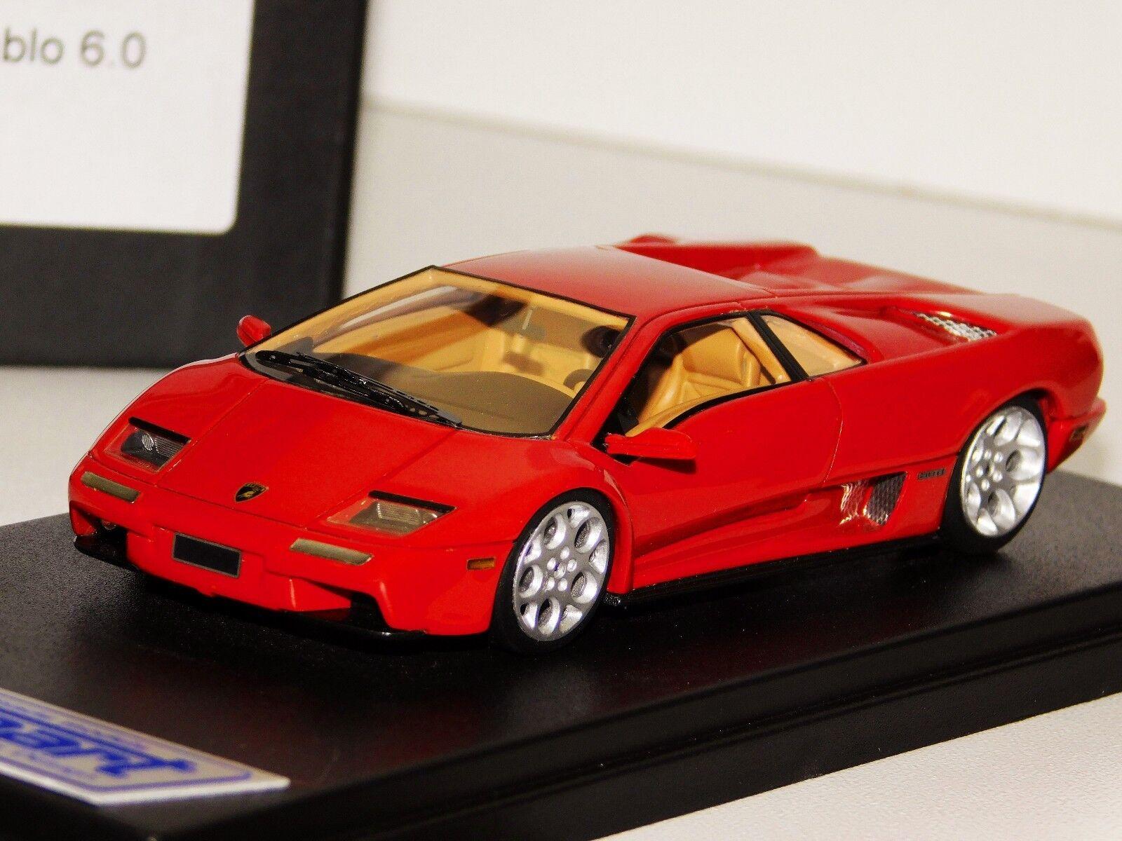 scelte con prezzo basso LAMBORGHINI DIABLO 6.0 rosso guardaSMART LS338B LS338B LS338B 1 43  marchio famoso
