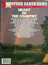 1986 Mother Earth News Magazine #100: Heart of the Country/Buying Land/Organic