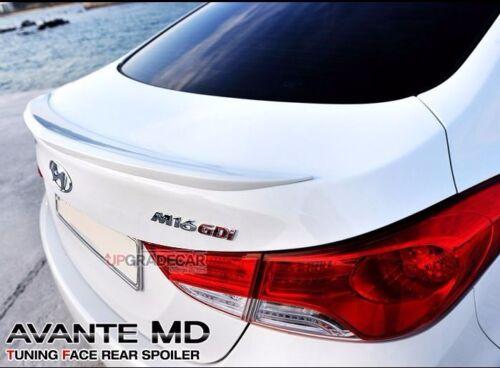 Upgradecar Rear Trunk Lip Wing Spoiler For HYUNDAI Elantra Sedan 2011 2015
