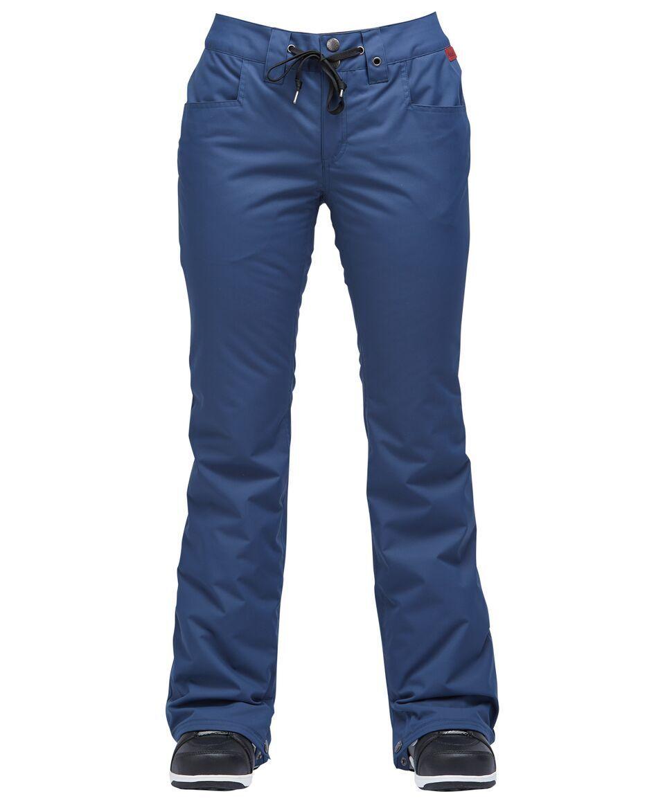 NWT Airblaster damen Hot Fancy Pant Pants 10K M Medium Snowboard Navy ac487
