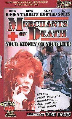 MERCHANTS OF DEATH- Russ Tamblyn*PJ Soles*Clint Howard*William Smith*Ross Hagen