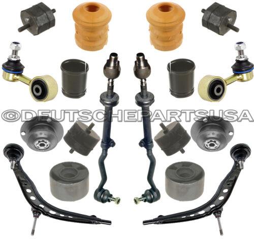CONTROL ARM TIE ROD ENGINE MOTOR STRUT MOUNT for BMW E30 325i SUSPENSION KIT 18
