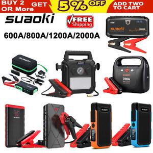 74f7332342e Suaoki Portable Mini Jump Starter Car Battery Charger USB Power Bank ...