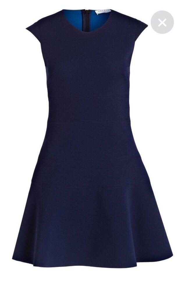 Sandro Paris blue Mini Kleid Dress Remind Winter Gr.2 DE 36 NEU