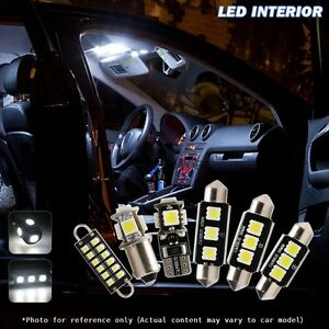 Image Is Loading 20x Canbus Car LED Light Interior Package Kit